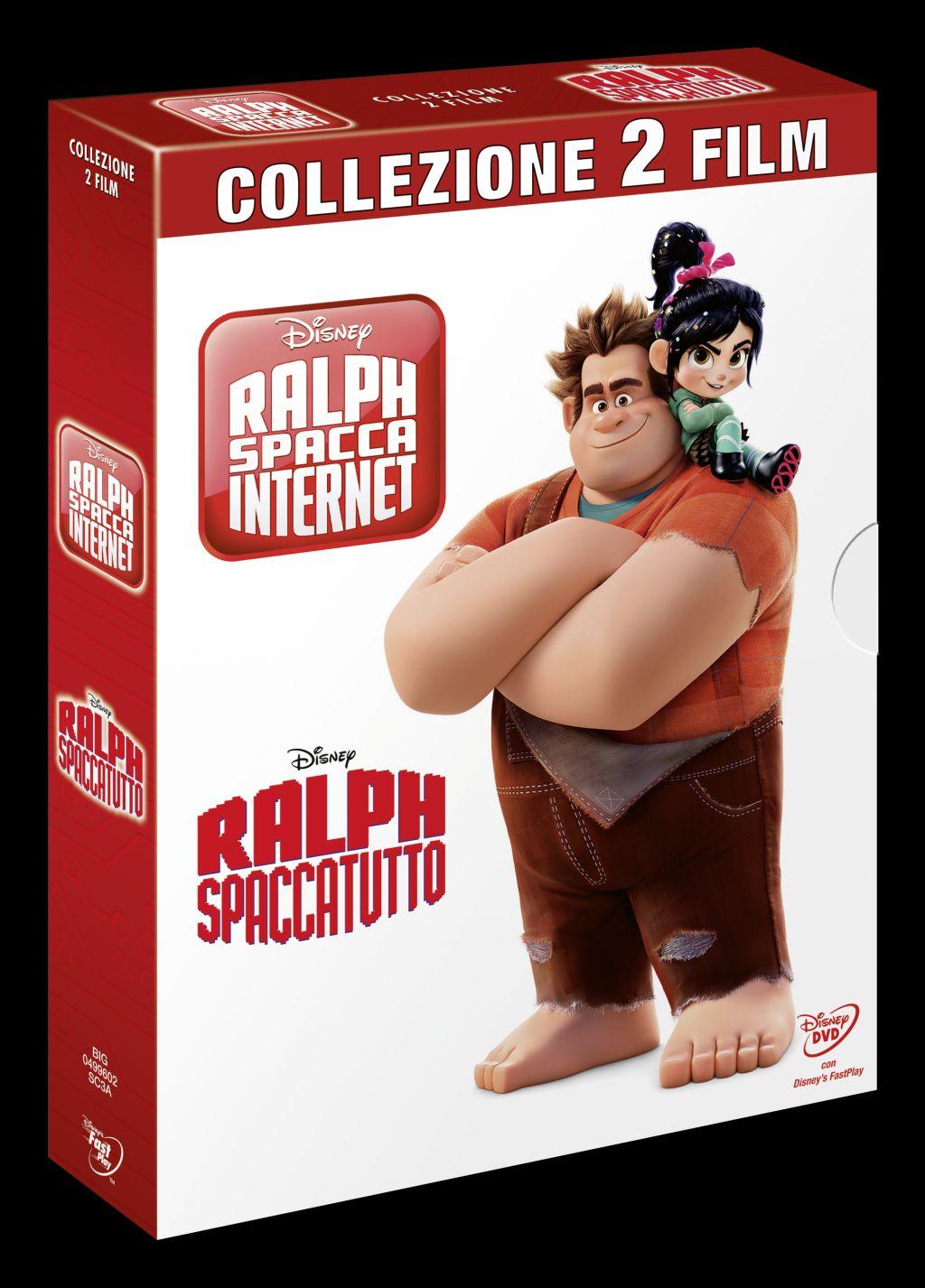 ralph spacca internet dvd  Ralph Spacca Internet è disponibile in DVD e Blu-Ray
